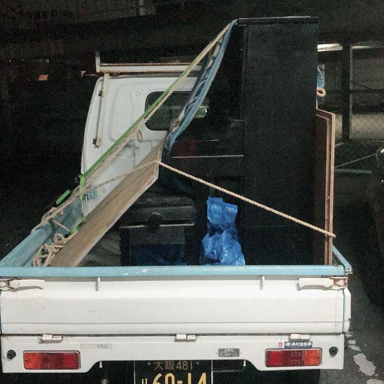 今日はシェアP初のピアノを運ぶ仕事!